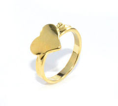 GOLD,HEART,RING