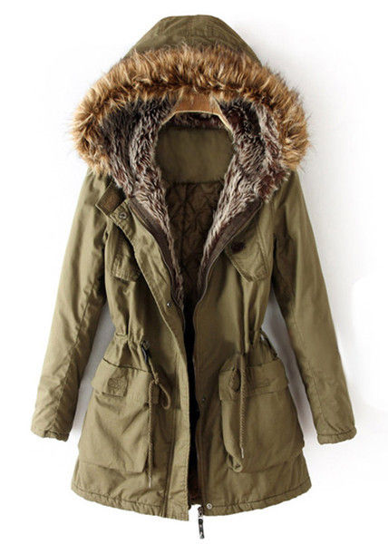 FUR HOODED PARKA 111 - product image
