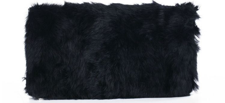 Fur Fold Clutch Bag Product Image