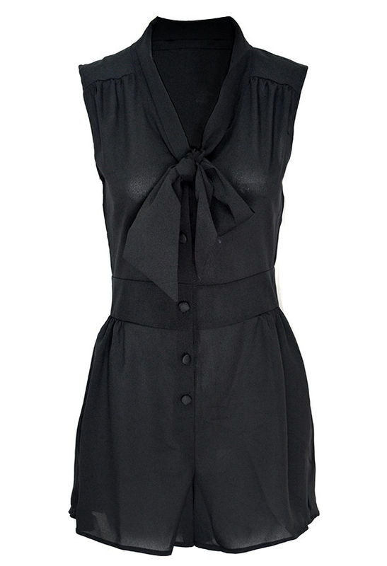FRONT BOW PLAYSUIT - product image