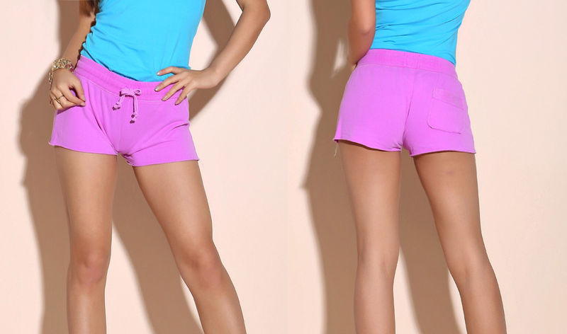 FLUORESCENT JOGGER SHORTS - product image