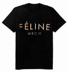 FELINE,MEOW,TEE,T-shirts