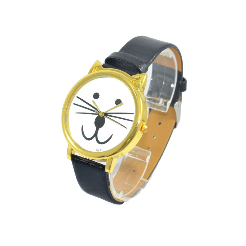 FAUX LEATHER CAT WATCH - product images  of