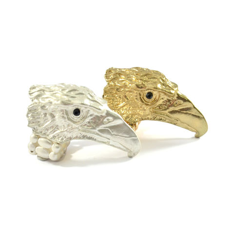 EAGLE,HEAD,ELASTIC,RING