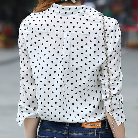 DOTS PATTERN SHIRT - product image