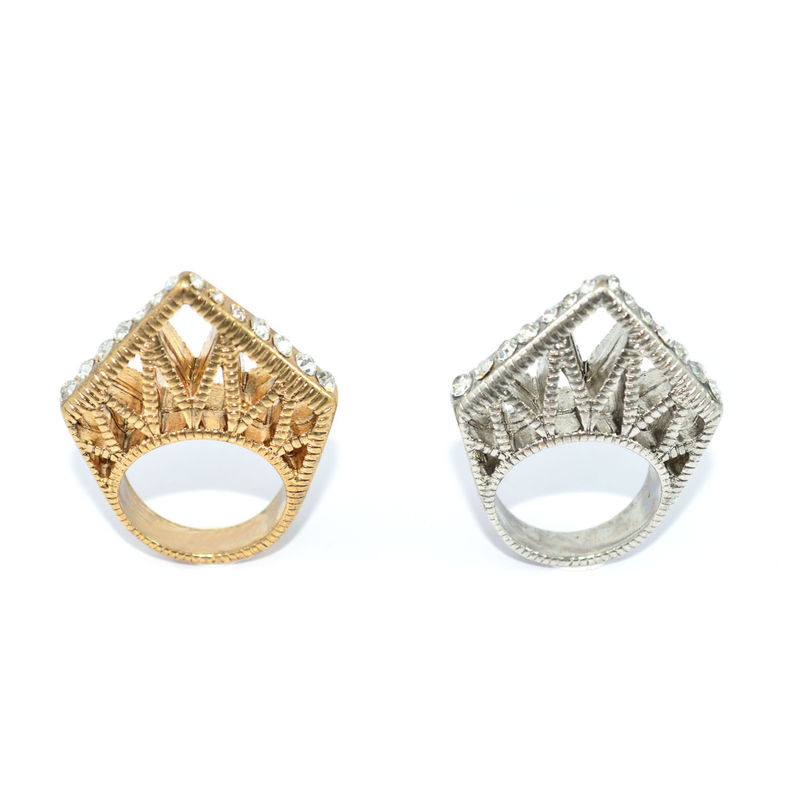 CRYSTAL DAGGER RING - product image