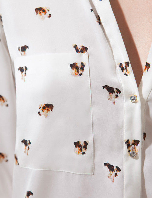 PUPPY LOVE BLOUSE - product image