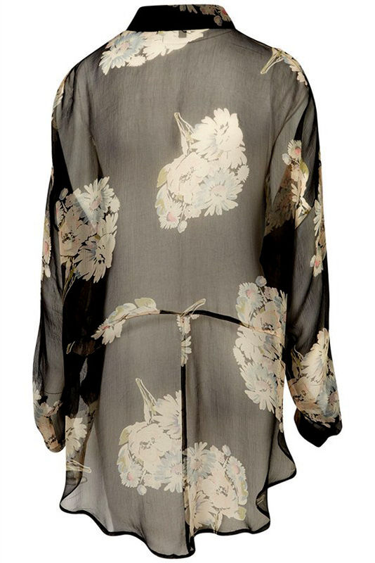PRINCESS CHINA FLORAL SHIRT - product image