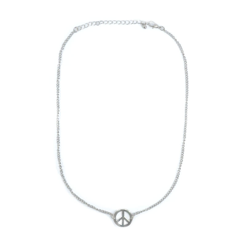 PEACE PENDANT NECKLACE - product image