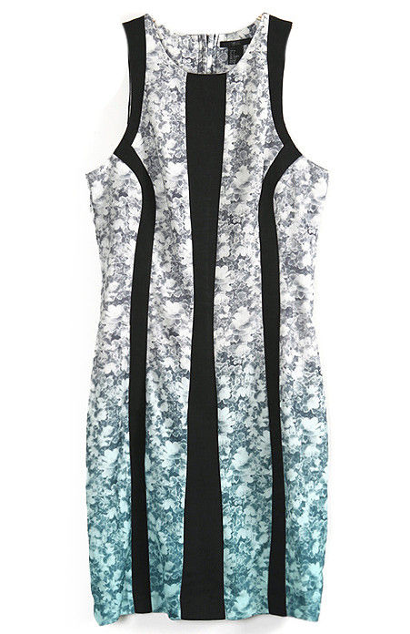 PATTERN AND FLORAL DRESS - product image