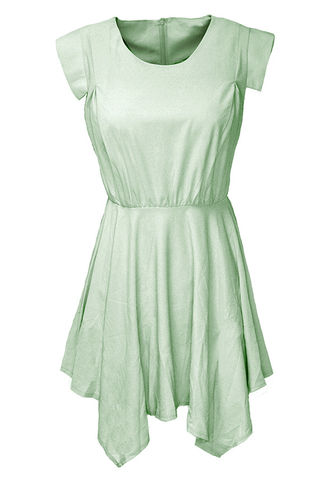 PASTEL,CHIFFON,DRESS
