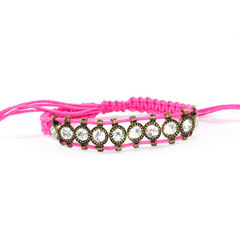 PARALLEL,CRYSTALS,WITH,STRAP,ADJUSTABLE,BRACELET