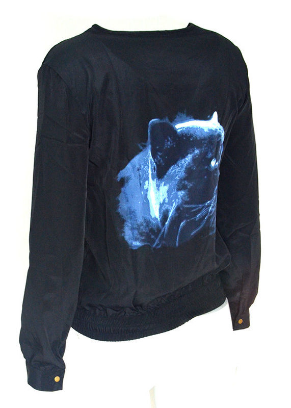 PANTHER BACK BOMBER JACKET - product image