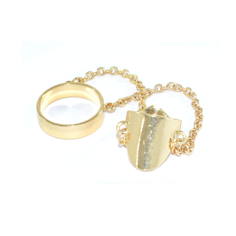 NAIL AND FINGER CHAINED RING - product image