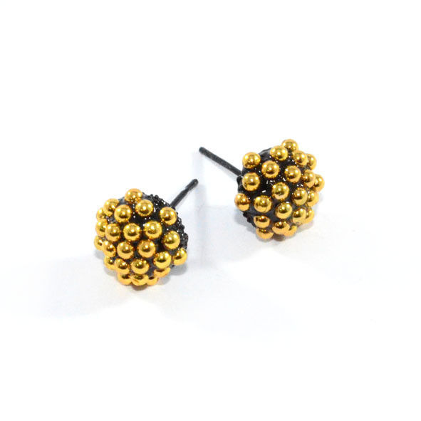 MULTI STUD BALL SHAPE EARRINGS - product image