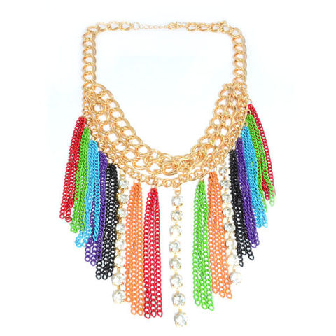 MULTI,CHAIN,WITH,CRYSTALS,AND,TASSELS,NECKLACE