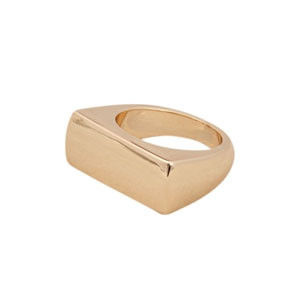 MINIMAL RECTANGLE RING - product image