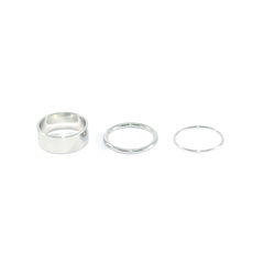 MINIMAL,METALLIC,RING,SET,MINIMAL RING SET, MINIMAL SILVER RINGS, SMALL MINIMAL RING