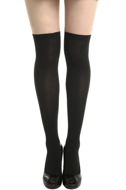 MINIMAL BLACK TIGHTS - product image