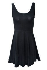 MINIMAL,BLACK,DRESS