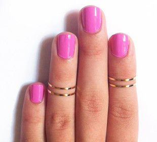 MINIMAL ABOVE KNUCKLE RING - product image