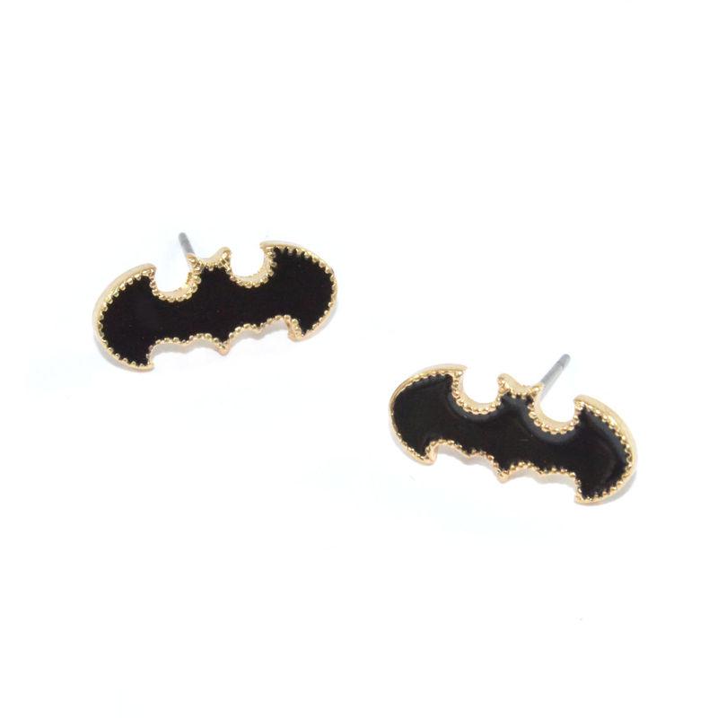 MINI STUD EDGE BAT EARRINGS - product images  of