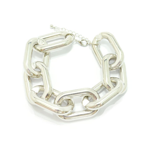 METALLIC,CHAIN,BRACELET