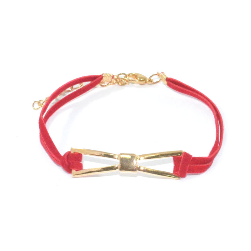 METALLIC BOW BRACELET - product image