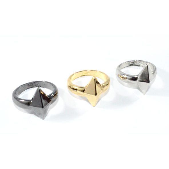 METAL RHOMBUS RING - product image