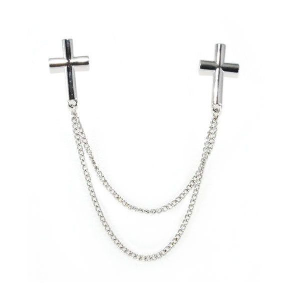 METAL CROSS COLLAR NECKLACE - product image
