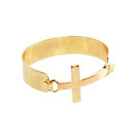 METAL CROSS BRACELET - product image