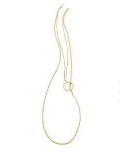 LONG O NECKLACE - product image