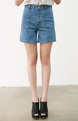 LONG DENIM SHORTS - Rings & Tings | Online fashion store | Shop ...