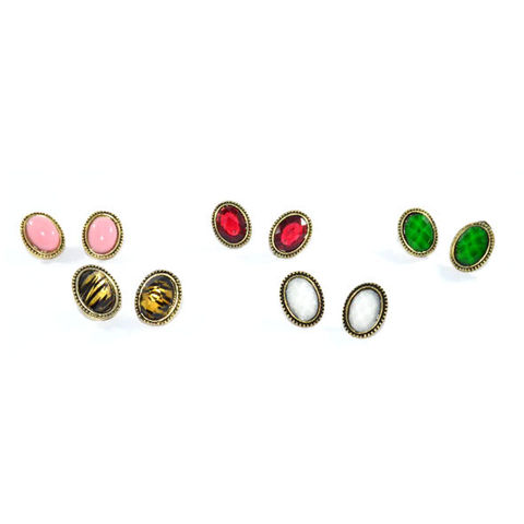 LITTLE,OVAL,EARRINGS
