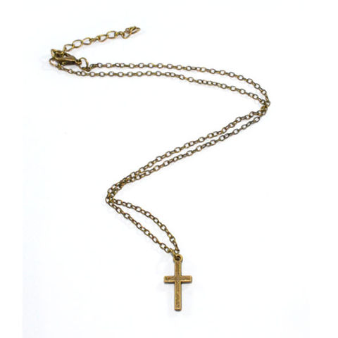 LITTLE,CROSS,NECKLACE