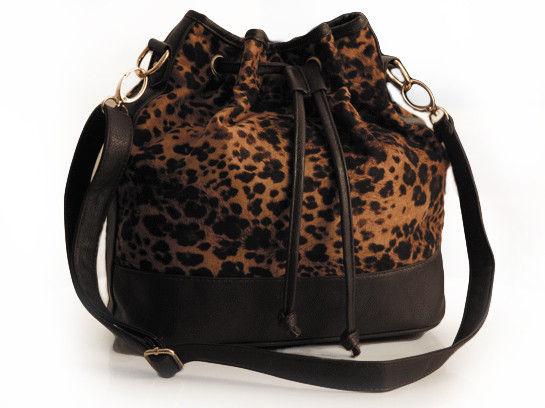 Leopard Print Shoulder Bag 45