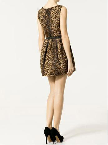 LEOPARD PARTY DRESS - product image