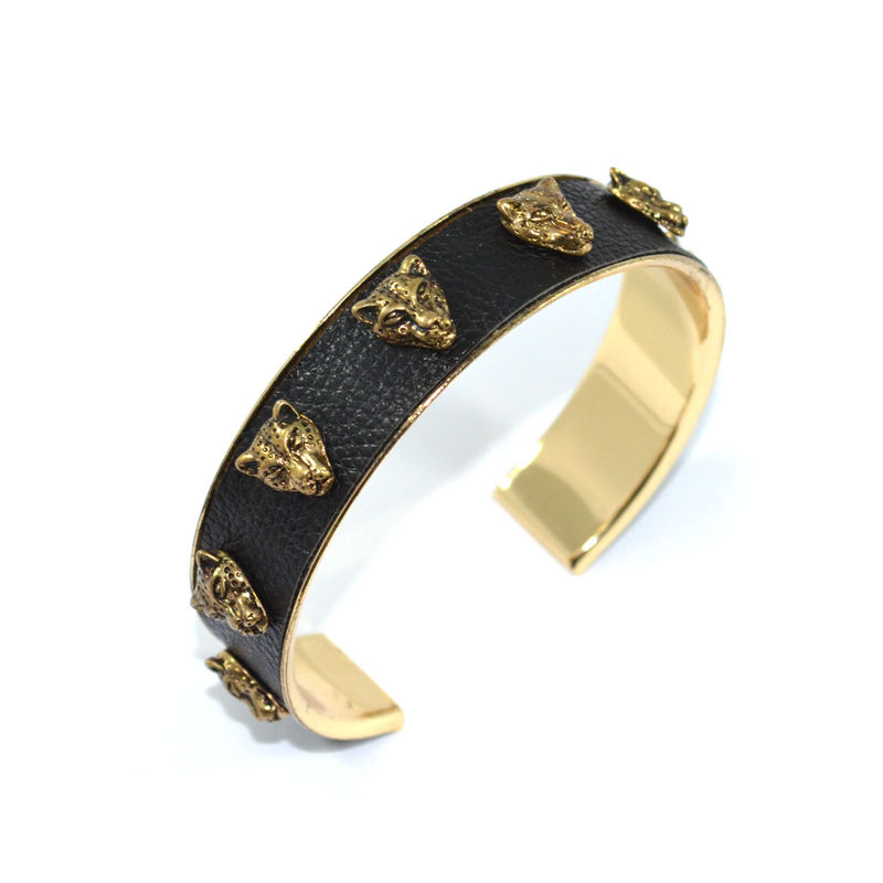 LEOPARD CHARMS BANGLE - product image