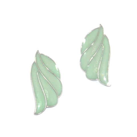 LEAF,EARRINGS