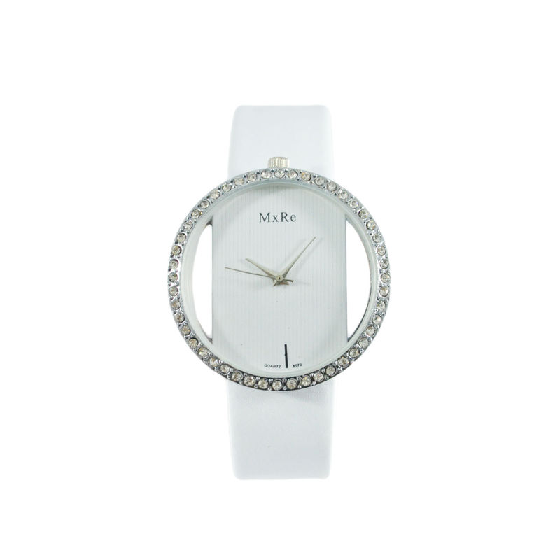 WHITE CRYSTAL EDGE WATCH - product image