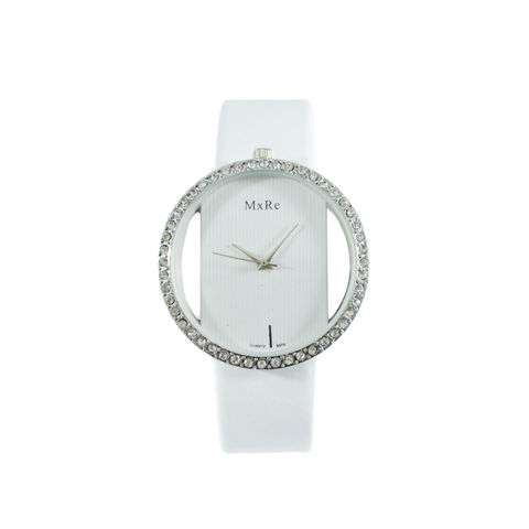 WHITE,CRYSTAL,EDGE,WATCH