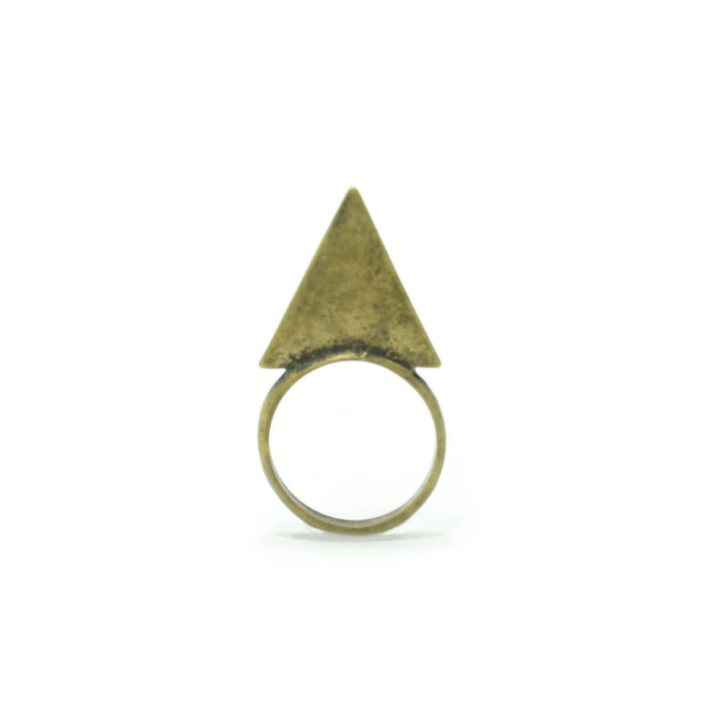 VINTAGE STYLE TRIANGLE RING - product image