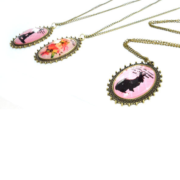 VINTAGE PENDANT NECKLACE - product images  of