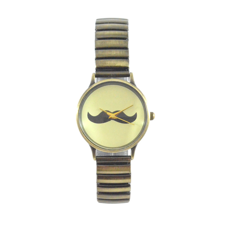 VINTAGE MUSTACHE WATCH - product image