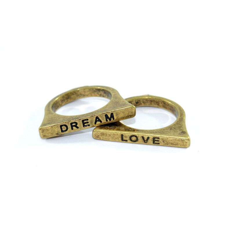 VINTAGE MESSAGE RING - product image