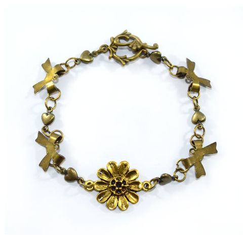 VINTAGE,FLOWER,BRACELET,vendor-unknown,Cart2Cart