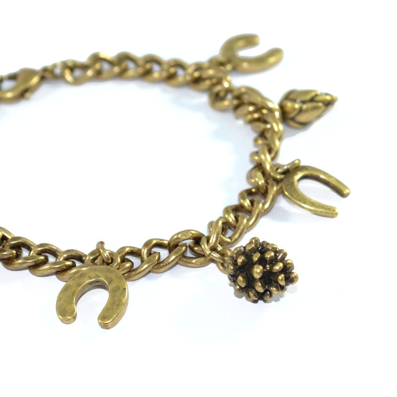 VINTAGE CHARMS CHAIN BRACELET - product image