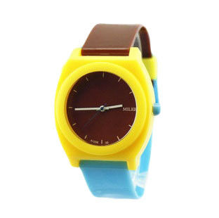 TWO TONE STRAP WATCH - product image