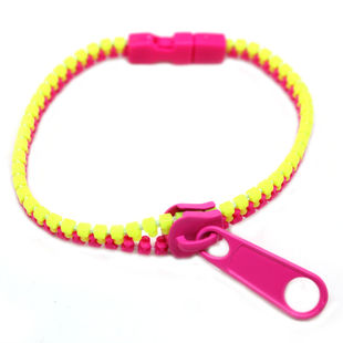TWO COLOUR ZIP BRACELET - product image
