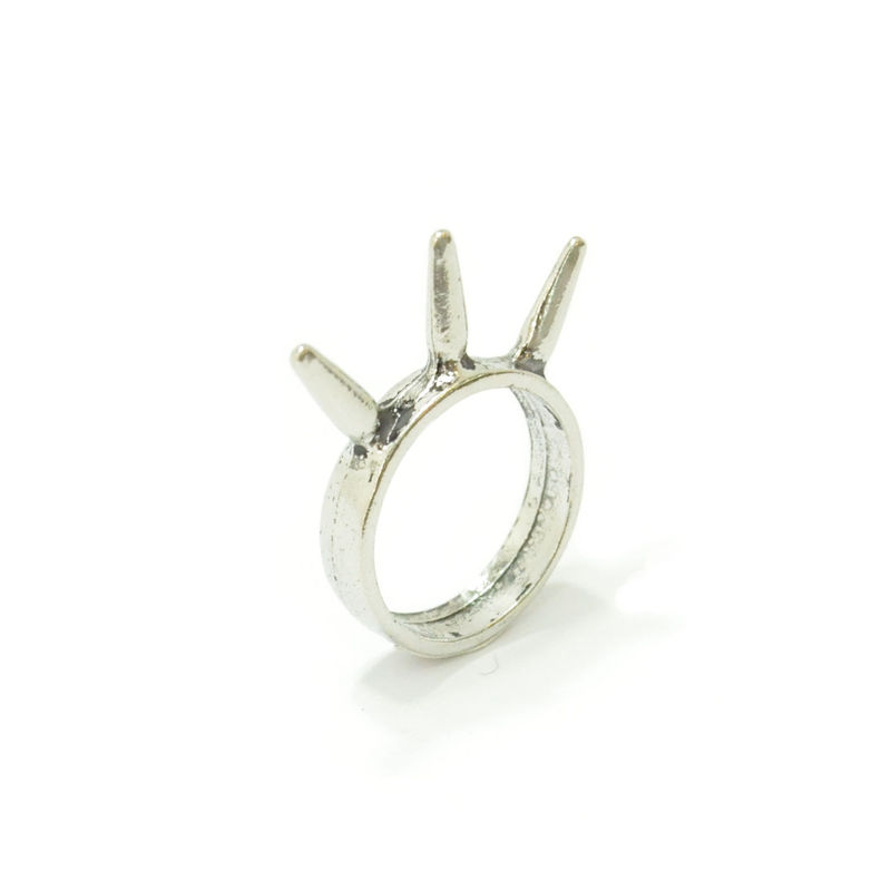 TRIPLE SPIKE RING - product image